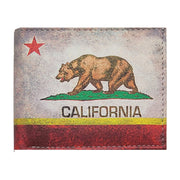 Wholesale by Bronze Baboon: California Bear Flag Wallet