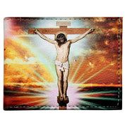 "Wholesale by Bronze Baboon: ""Crucifixion of Christ"" Wallet"