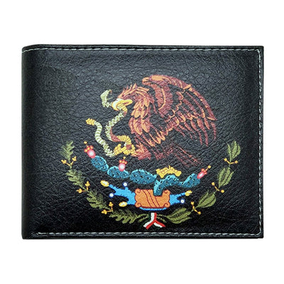 "Wholesale by Bronze Baboon: ""Mexican Flag Eagle"" Wallet"