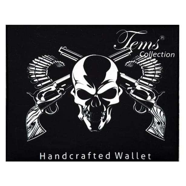 """Skull With Crossguns"" Wallet"