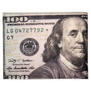 Bronze Baboon Wholesale: Benjamin Franklin Color $100 Wallet