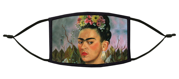 Picasso's Earring Adjustable Face Mask (Frida)