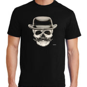 "Bronze Baboon wholesale """"Posada in Derby-Los Angeles"" Unisex Cotton T-Shirt"" Day of the Dead Unisex Cotton T-Shirt"