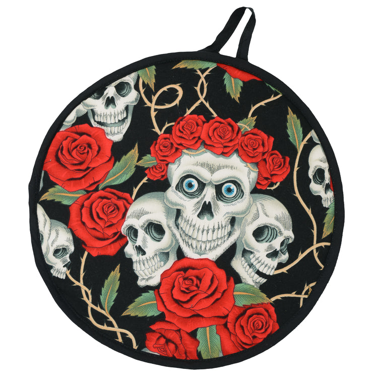 "Wholesale by Bronze Baboon ""Rose Tattoo-Black"" Tortilla Warmers"