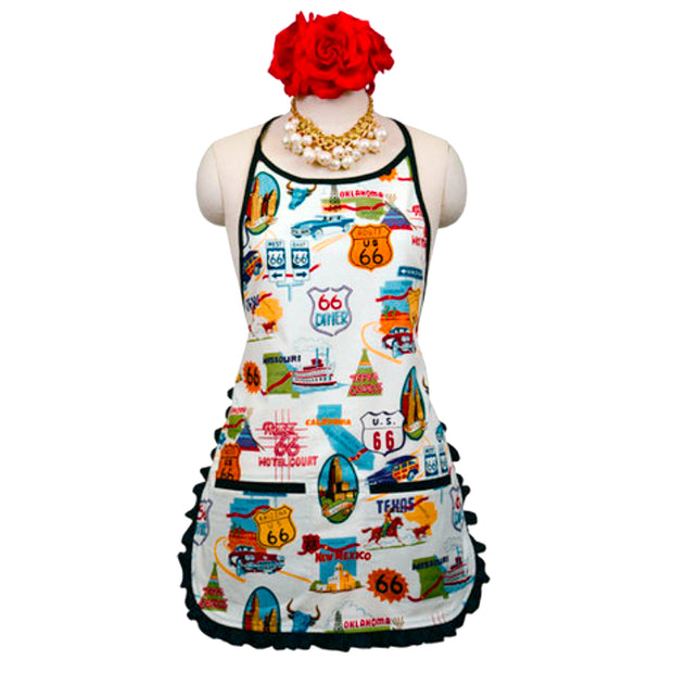 "Wholesale by Bronze Baboon: ""Route 66"" Classic Apron"
