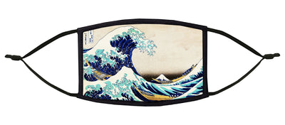 The Great Wave off Kanagawa Adjustable Face Mask