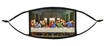 The Last Supper Adjustable Face Mask