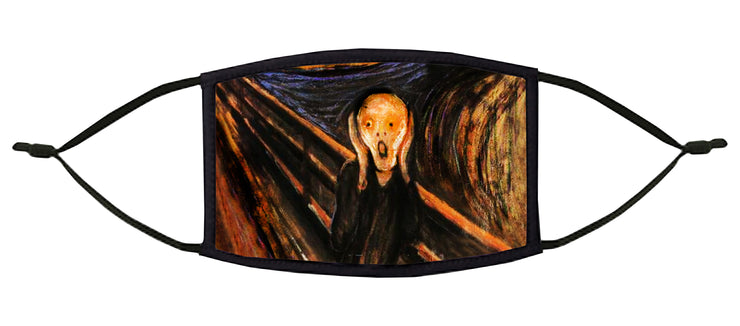 The Scream Adjustable Face Mask (Munch)