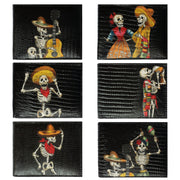 Wholesale by Bronze Baboon: Day of the Dead Fiesta Wallet Set