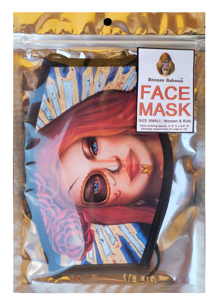 The Time Is Always Right... Adjustable Face Mask (M.L. King)