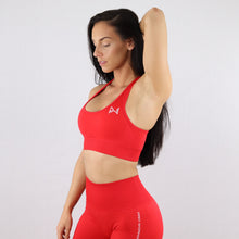 Load image into Gallery viewer, Red Essential Seamless Sports Bra