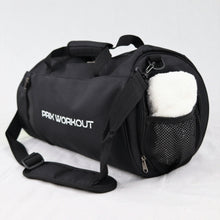 Load image into Gallery viewer, Black Sports Duffle Bag