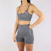 Load image into Gallery viewer, Prix Workout grey gym wear shorts