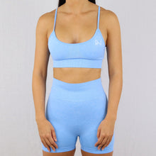 Load image into Gallery viewer, Prix Workout blue gym wear shorts