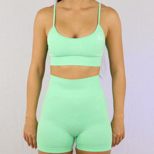 Prix Workout mint gym wear shorts