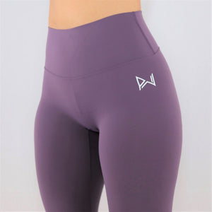 Purple 7/8 Training Leggings