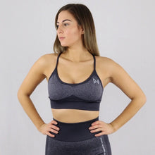 Load image into Gallery viewer, Black Flex Sports Bra