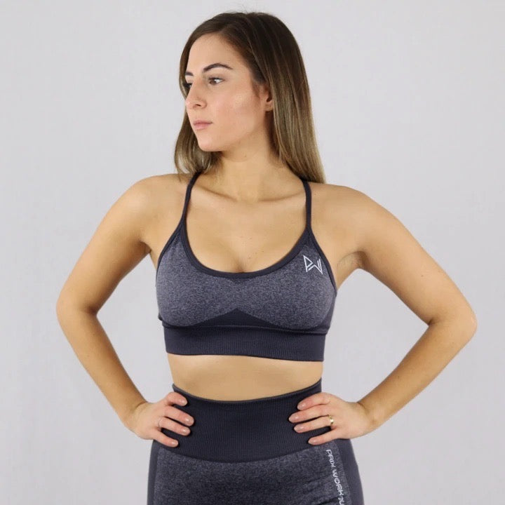 Black Flex Sports Bra