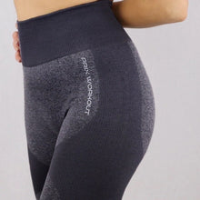Load image into Gallery viewer, Black Flex High-waist Seamless Leggings