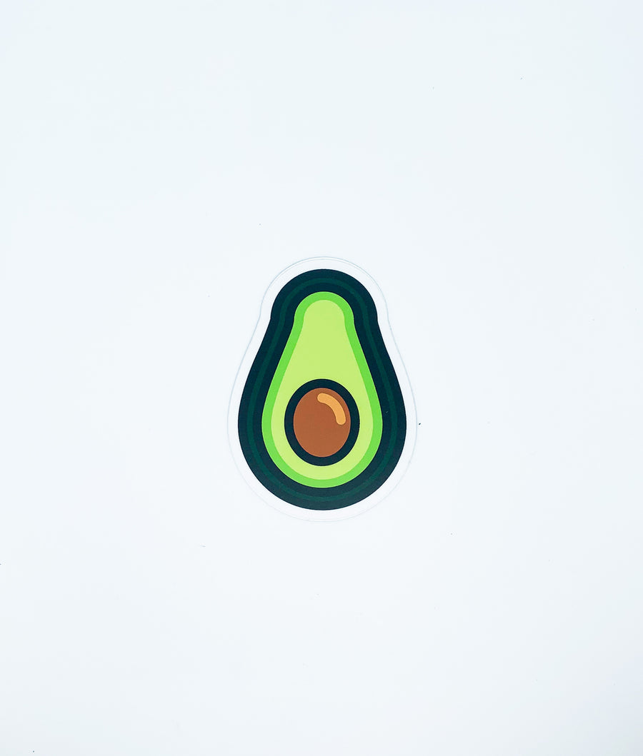 NW Stickers-Avocado