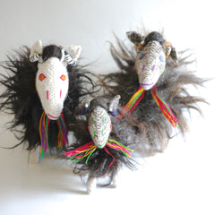 Decorative Wool Sheep - Large