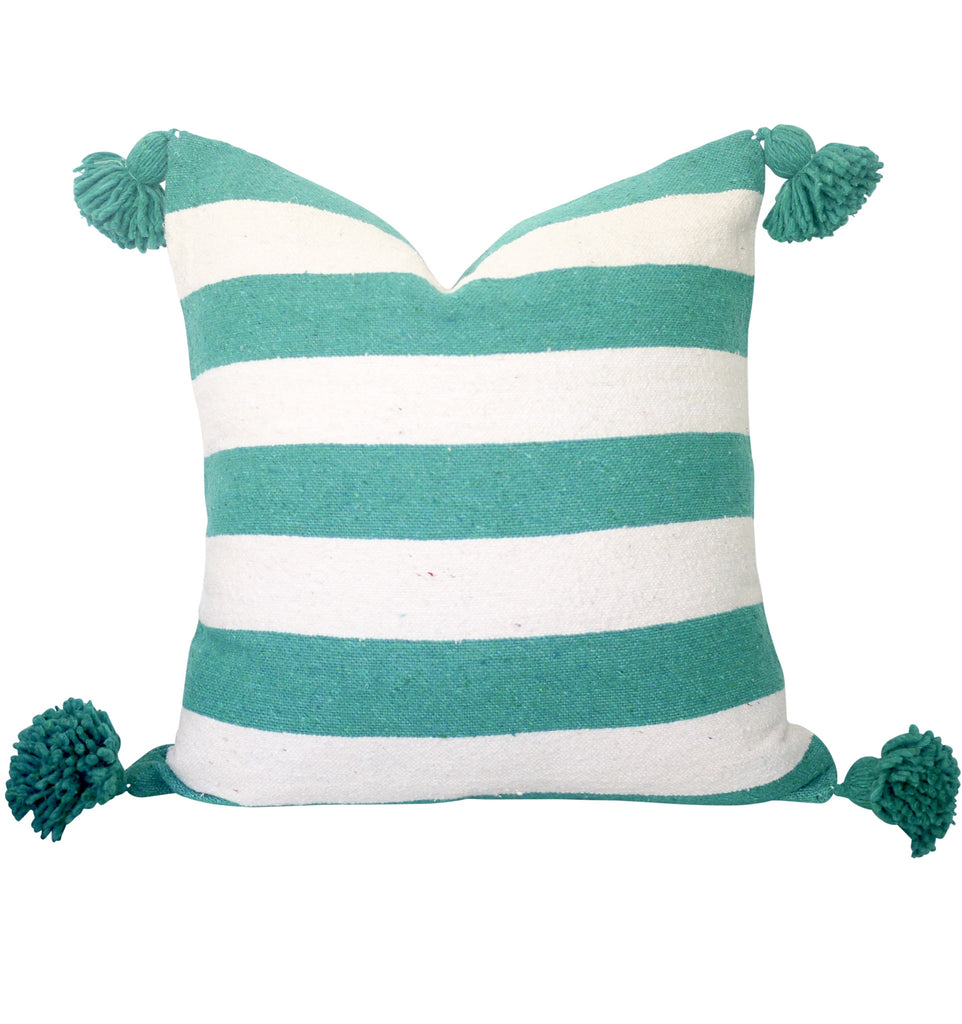 "Ifni 20"" x 20"" Pom Pom Pillow Cover"