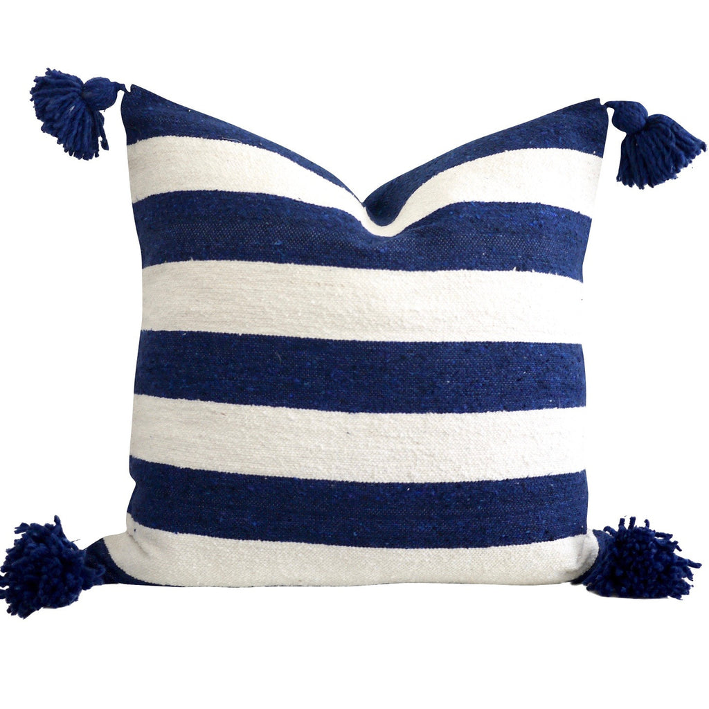 "Tildi 20"" x 20"" Pom Pom Pillow Cover"