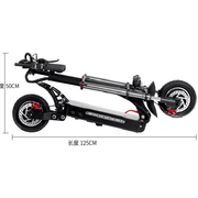 QUICKWHEEL-EXPLORER-5400W 60V Dual Motor Folding Electric Scoote