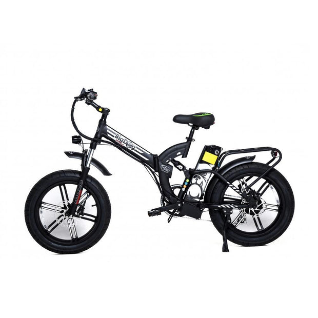 Green Bike Electric Motion Big Dog Off Road 48V 750W Ebike