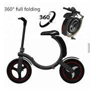 QuickWheel C2 -350W C-Shape Folding Electric Scooter