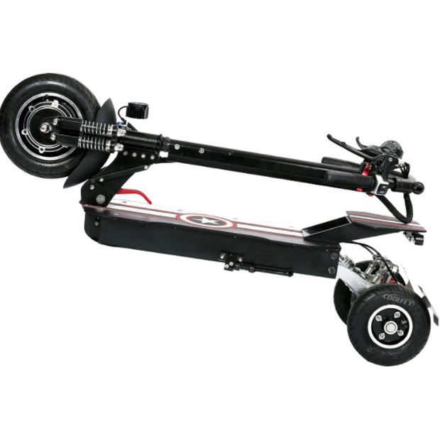 CoolFly-T10-1000w 48v 3 Wheel Folding Electric Scooter