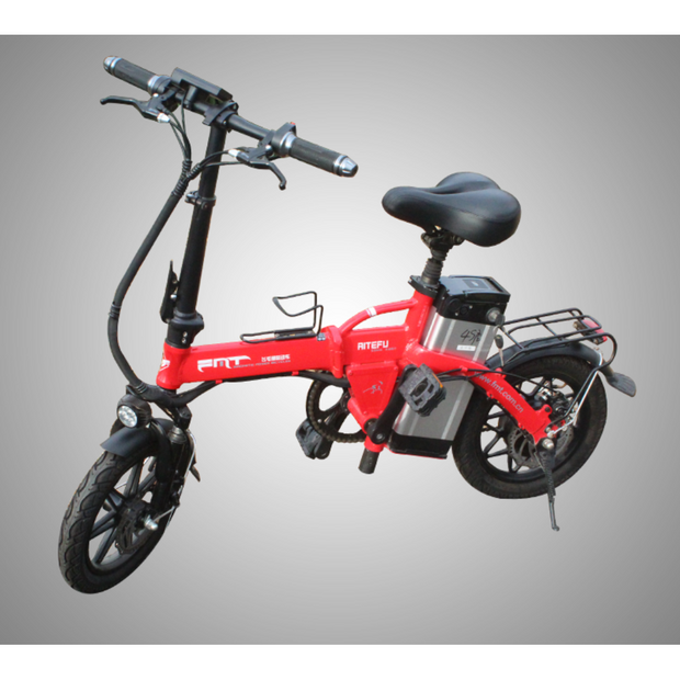 "CityELF 14""  350W 48V  Compact Folding Electric Bike"