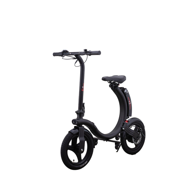 E1 -350W C-Shape Foldable Portable Electric Scooter