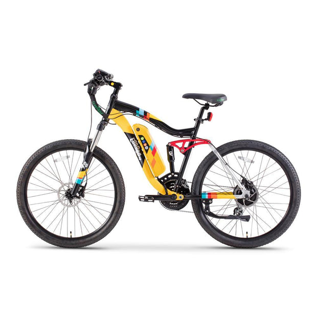 Green Bike Electric Motion Enduro 48 350W Mountain Bikes