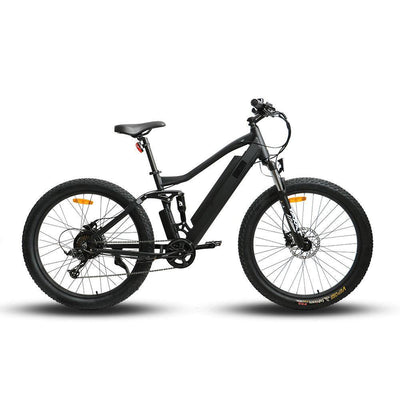 EUNORAU 36V 350W UHVO All Terrain full suspension Fat Tire Mountain e-Bike Electric Bike( New 2021) - Best Electric City Rides