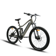 EUNORAU 36V 350W UHVO All Terrain full suspension Fat Tire Mountain e-Bike Electric Bike( New 2021)