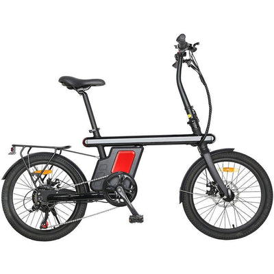 "EUNORAU 36V250W Z1 20"" Twist Throttle- City e-Bike Electric Bike ( New 2021) - Best Electric City Rides"