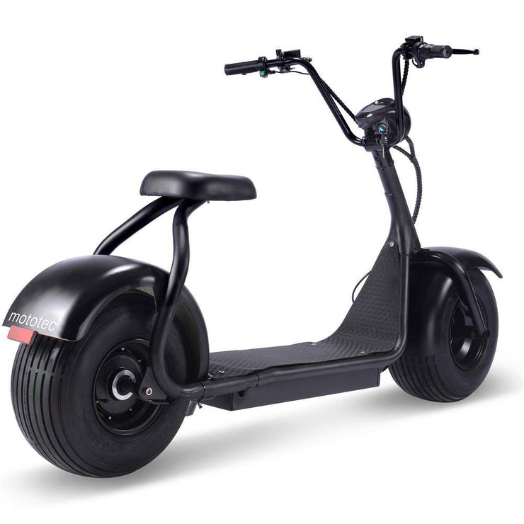 MOTOTEC - Fat Tire 60v 18ah 2000w Lithium Electric Scooter - BestElectricCityRides.com