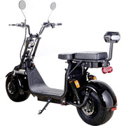 MOTOTEC - Knockout 60v 2000w Lithium Electric Scooter - BestElectricCityRides.com
