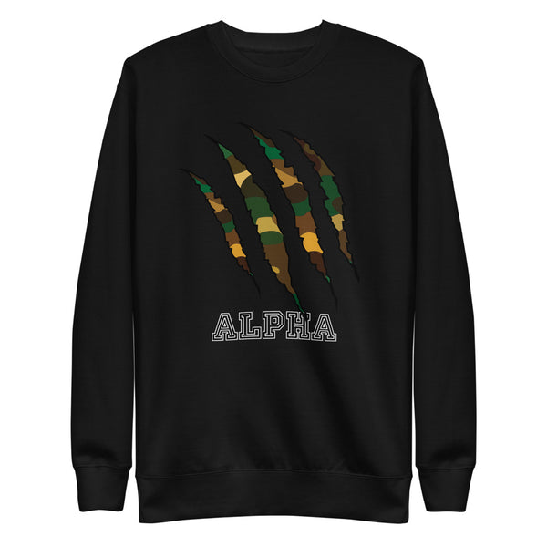 Alpha Camo Unisex Fleece Pullover