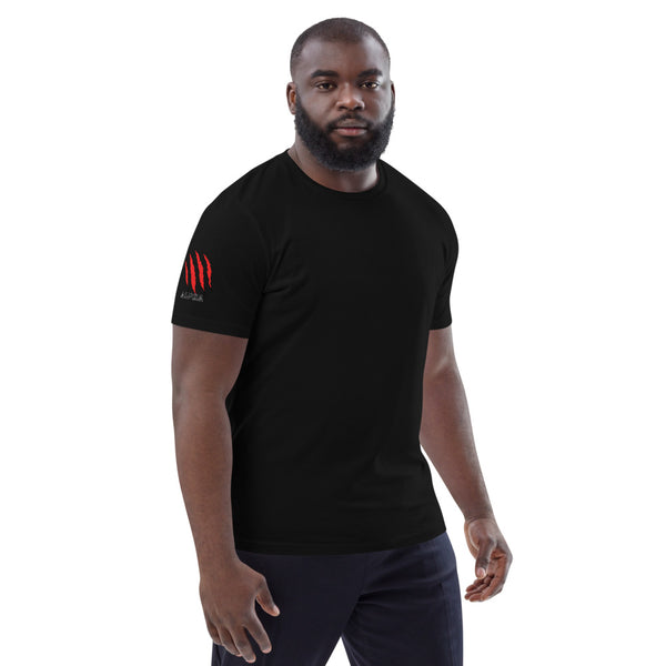 Alpha Red Sleeve Unisex organic cotton t-shirt