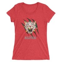 Alpha Leopard Ladies' Slim fit  t-shirt