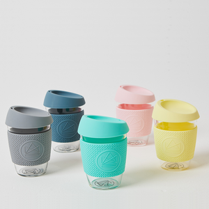 Glass Coffee Cup 340ml