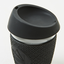 Load image into Gallery viewer, Glass Coffee Cup 340ml