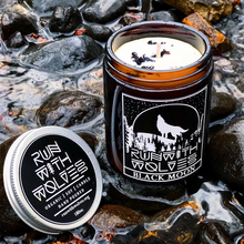 Load image into Gallery viewer, Natural Soy Wax Candle Black Moon