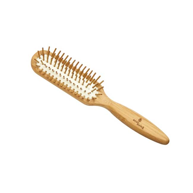 FSC Bamboo Hairbrush with Wooden pins