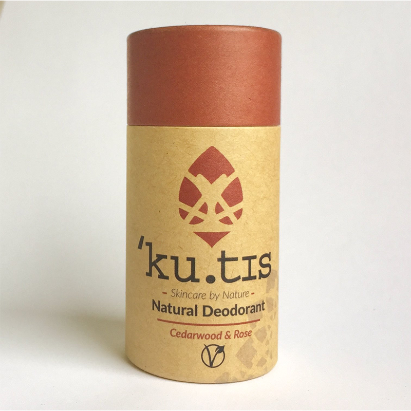 Natural Deodorant Cedarwood & Rose 55g