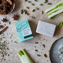 Load image into Gallery viewer, Organic Fennel & Cardamom Chai Soap Bar 100g