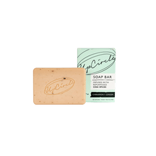 Load image into Gallery viewer, Cinnamon & Ginger Chai Soap Bar 100g