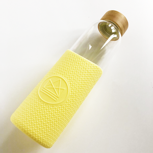 Glass Water Bottle 550ml